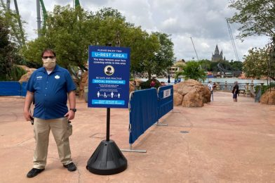 PHOTOS: New U•Rest Areas for Removing Face Masks Debut at Universal Orlando Resort