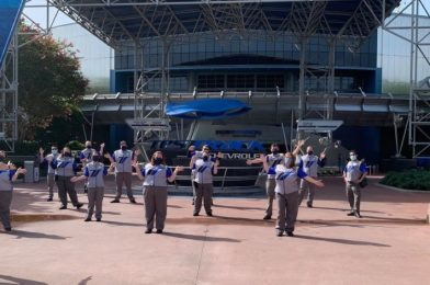 PHOTO: Test Track Cast Members Undergo Training for Reopening of EPCOT