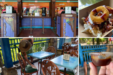 PHOTOS: Flame Tree Barbecue Reopens at Disney's Animal Kingdom Following Health and Safety Guidelines with Plexiglass Barriers and No Self-Serve Sauces
