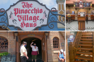 PHOTOS: A Look Inside The Pinocchio Village Haus Reopening with New Health and Safety Procedures and No Upstairs Dining at the Magic Kingdom