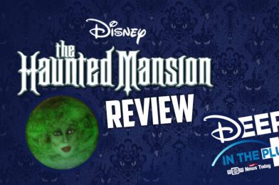 """DISNEY+ REVIEW: """"The Haunted Mansion"""" on Deep in the Plus, Live TONIGHT at 7 PM!"""