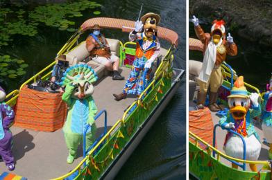 PHOTOS, VIDEO: Donald's Dino Boat Bash! Sets Sail Along the Discovery River at Disney's Animal Kingdom