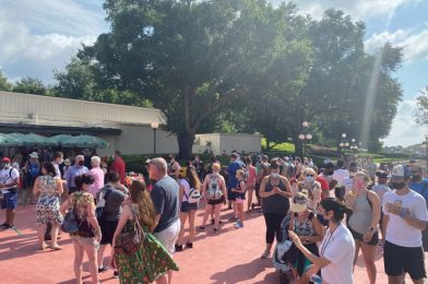 PHOTOS: Large Crowds Form Outside of Guest Relations at the Magic Kingdom on Grand Reopening Day