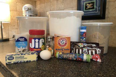 Saturday Snacks: Let's Bake Mickey Peanut Butter Cookies!
