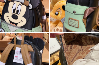 PHOTOS: New Disney's Animal Kingdom Minnie Safari Mini Backpack by Loungefly is Spotted at Disney's Animal Kingdom