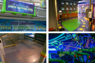 PHOTOS: Buzz Lightyear's Space Ranger Spin Reopens with New Social Distancing Measures at the Magic Kingdom