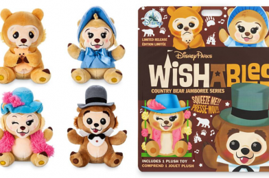 SHOP: Country Bear Jamboree Wishables Sing Their Way Back Into shopDisney