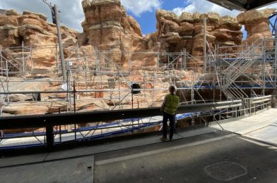 "Disneyland Paris Shares Look at Construction on Former Catastrophe Canyon as it Transforms to ""Cars"" Route 66 Road Trip"