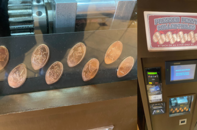 PHOTOS: New Pressed Pennies at the Magic Kingdom Pay Homage to Mickey Mouse Review, An Opening Day Attraction