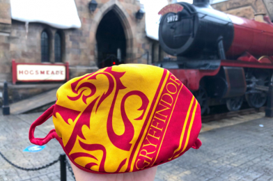 """PHOTOS: New """"Harry Potter"""" Gryffindor House Face Masks Apparate Into Universal Orlando Resort"""