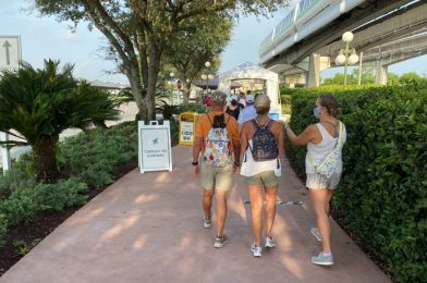 PHOTOS: The Magic Kingdom Debuts Newly Completed Walkway from Disney's Contemporary Resort for Reopening