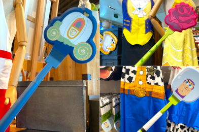 "PHOTOS: New ""Beauty and the Beast"", ""Cinderella"", and ""Toy Story"" Spatulas Cause a Stir in Disney Springs"