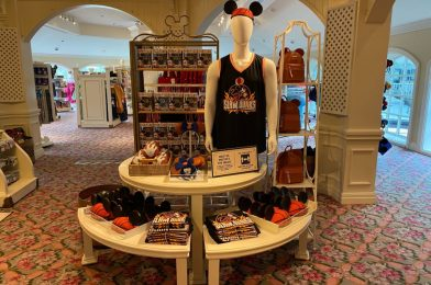 PHOTOS: NBA Merchandise Takes Over M. Mouse Mercantile at Disney's Grand Floridian Resort & Spa