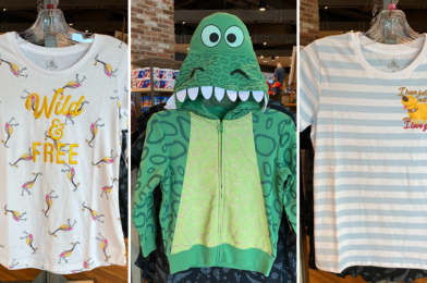 "PHOTOS: New ""Toy Story"" Rex Hoodie and ""Up"" T-Shirts Bring Fun PIXAR Style to Disney Springs"