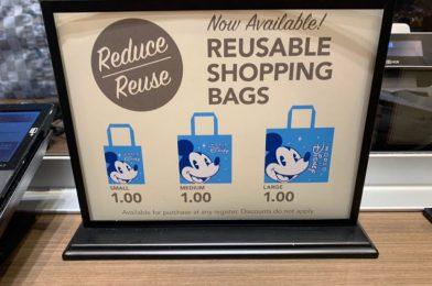 PHOTOS: Walt Disney World Reduces All Reusable Bag Prices to $1 Each