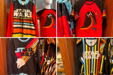 "PHOTOS: New Retro-Style ""Star Wars"" Apparel Flies Into Disney Springs"