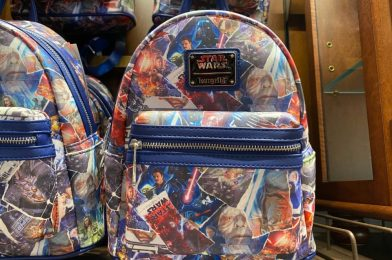 PHOTOS: New Star Wars Movie Poster Backpack by Loungefly Arrives in Walt Disney World