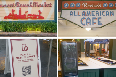 PHOTOS: Sunset Ranch Market and Rosie's All American Cafe Reopen at Disney's Hollywood Studios with Mobile Ordering and Open Condiment Bar