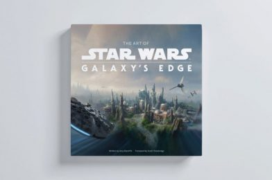 """""""The Art of Star Wars: Galaxy's Edge"""" Hardcover Book Announced at Comic-Con @ Home; Now Available for Pre-Order"""