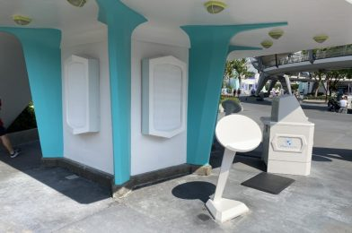 PHOTOS: Redesigned Disney Vacation Club Kiosk Debuts in Tomorrowland at the Magic Kingdom