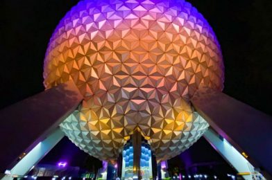 There's a NEW Color Changing Shirt in EPCOT and It's Stunning!
