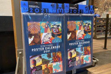 PHOTOS: New 2021 Disney Parks Poster Calendar Now Available at Disneyland Resort