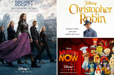 """Every New Release Coming to Disney+ in September: """"Mulan"""" on Premier Access, """"Christopher Robin"""", """"Secret Society of Second-Born Royals"""", and """"Muppets Now"""" Finale"""
