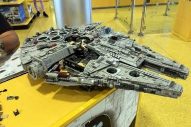 Photos! Check Out These Amazing 'Star Wars' and 'Frozen' LEGO Creations in Disney World!