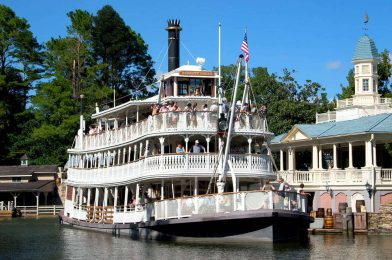 Liberty Square Riverboat at the Magic Kingdom  Scheduled for Refurbishment During Last Week of August
