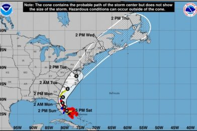 Isaias Downgraded to Tropical Storm; Heavy Wind and Rain Still Expected in Central Florida