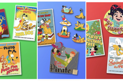 """Pluto, Pirates, Aladdin, and """"Wreck-It Ralph"""" Limited Edition Pins Coming to shopDisney on August 27"""