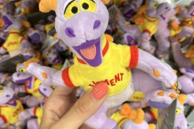 Voilà! The Shoulder Plush Figment We Spotted in Disney World is Now Available Online