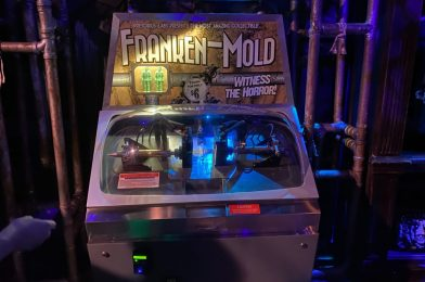 "PHOTOS, VIDEO: New ""Franken-Mold"" Mold-A-Rama Machine Arrives at the Halloween Horror Nights Tribute Store in Universal Studios Florida"