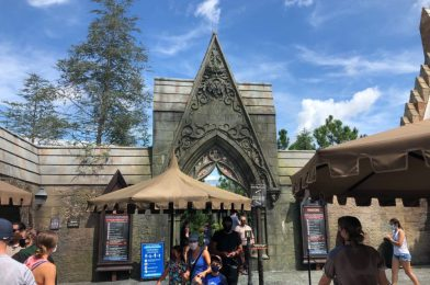 PHOTOS: Hagrid's Magical Creatures Motorbike Adventure Reopens Following Backstage Fire at Universal's Islands of Adventure