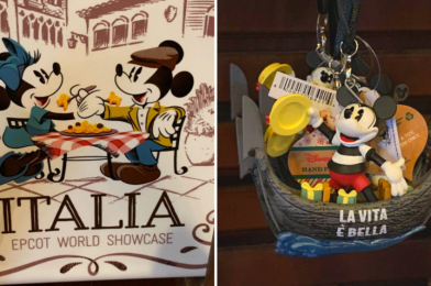 PHOTOS: New Cucina Italia Kitchenwares and Gondolier Mickey Ornament at Italy Pavilion in EPCOT
