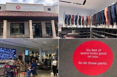 PHOTOS: Lululemon Opens All-New Location at Disney Springs