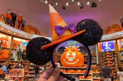 PHOTOS: New Halloween Minnie Candy Corn Witch Sequined Ear Headband Arrives at Walt Disney World