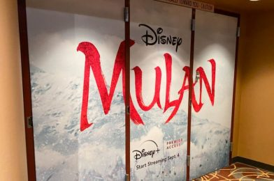 PHOTOS: The 'Mulan' Preview Has Opened in Disney's Hollywood Studios