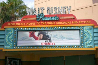"PHOTOS: Sneak Peek of ""Mulan"" Now Open at Walt Disney Presents in Disney's Hollywood Studios"