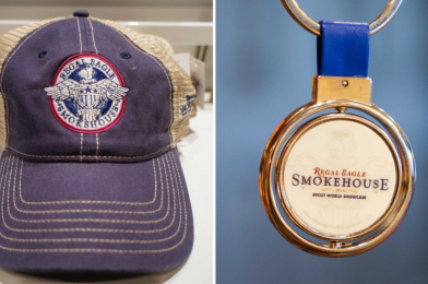 PHOTOS: New Regal Eagle Smokehouse: Craft Drafts & Barbecue Hat and Keychain Arrive at the American Adventure in EPCOT