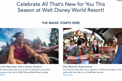 Disney World Website Page Noting FastPass+ Returning in January Likely An Error