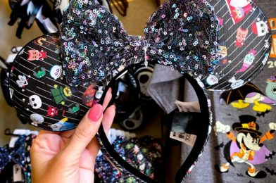 The Loungefly Nightmare Before Christmas Ears Have FINALLY Arrived in Disneyland!