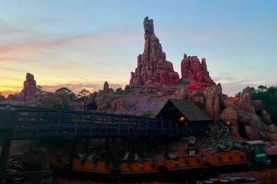 Sunset Shots at Magic Kingdom