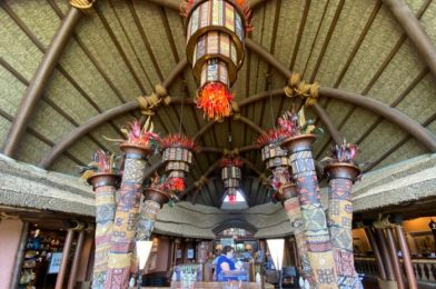 What's New at Animal Kingdom Lodge: Sanaa Lounge Hours and Holiday Merchandise!