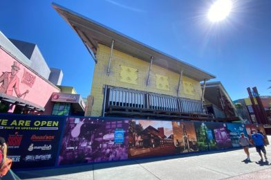 PHOTOS: Construction Continues on the New Universal Studios Store at Universal CityWalk Orlando