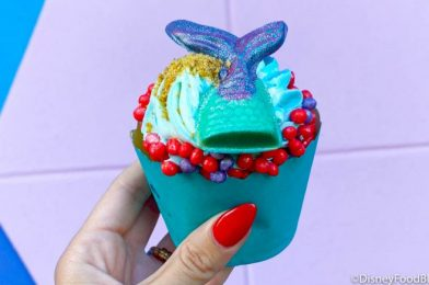 Whew! You Can Still Get This ICONIC Cupcake in Disney World!