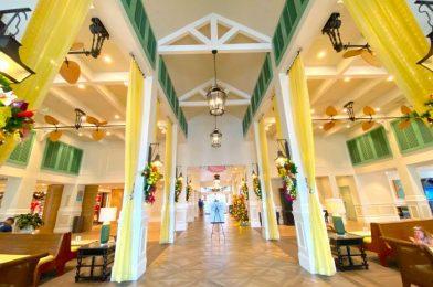 PHOTOS: It's a Colorful Caribbean Christmas at Disney's Caribbean Beach Resort!