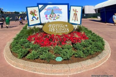 REVIEW: It's Cookie Stroll Time at This Year's Taste of EPCOT International Festival of the Holidays!