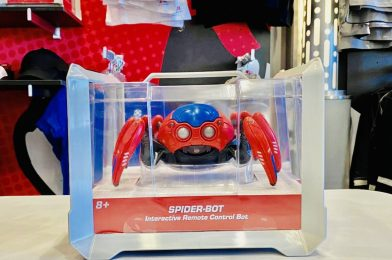 PHOTOS: NEW Interactive Avengers Campus Spider-Bots Now Available at Downtown Disney District