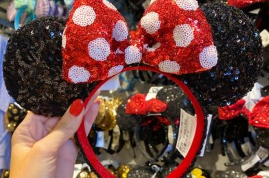 Snatch Up Disney's Sparkly Classic Minnie Mouse Ears Online Now!